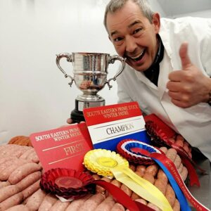 Award winning sausage maker David Bell